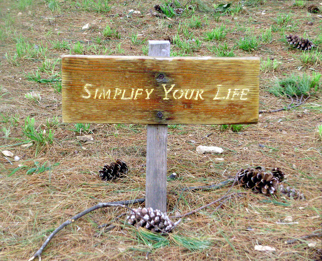"""""""Simplify Your Life"""""""